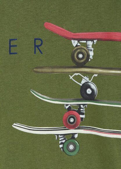 "Mayoral Πουλόβερ μεταξοτυπία ""skater"" Πράσινο κυνηγού 11-04402-092"
