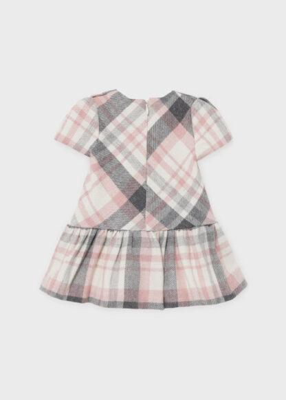 Mayoral Φόρεμα καρό Ροζ 11-02906-037