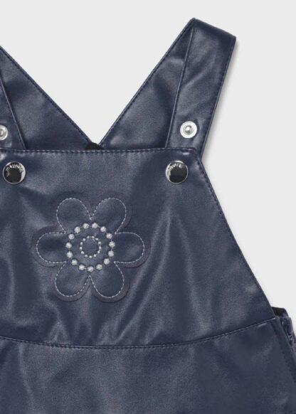 Mayoral Σετ φούστα σαλοπέτα πολυδέρμα Μπλε σκούρο 11-02697-004