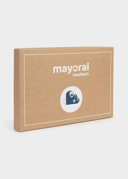Mayoral Σετ 2 φορμάκια βελουτέ Γαλάζιο έντονο 11-02683-087