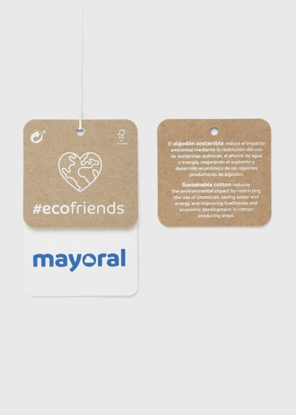Mayoral Σετ κολάν σταμπωτό Μπεζ 11-04752-059